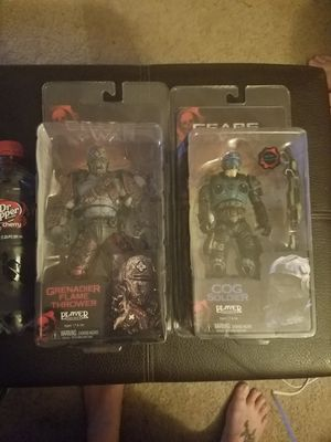 "Collectible toys from Gears of War 1 2 and 3, 7"" figures with accessories for Sale in Curtis Bay, MD"