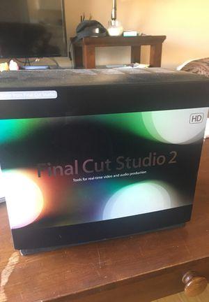 Final Cut Studio 2 HD for Mac for Sale in Seattle, WA