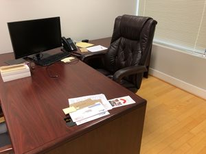 L shaped office desk for Sale in Columbia, MD