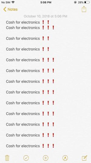 Cash for electronics for Sale in Waldorf, MD