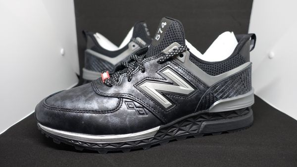 purchase cheap 39f3c 60f90 New Balance 574 Black Panther Marvel shoe [US 9.5] for Sale in Miami, FL -  OfferUp