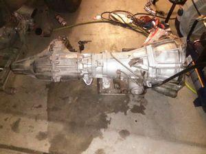 4l60e 4x4 transmission and transfer case