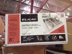 Elkay perfect drain sink 18 gauge steel for Sale in Phoenix, AZ