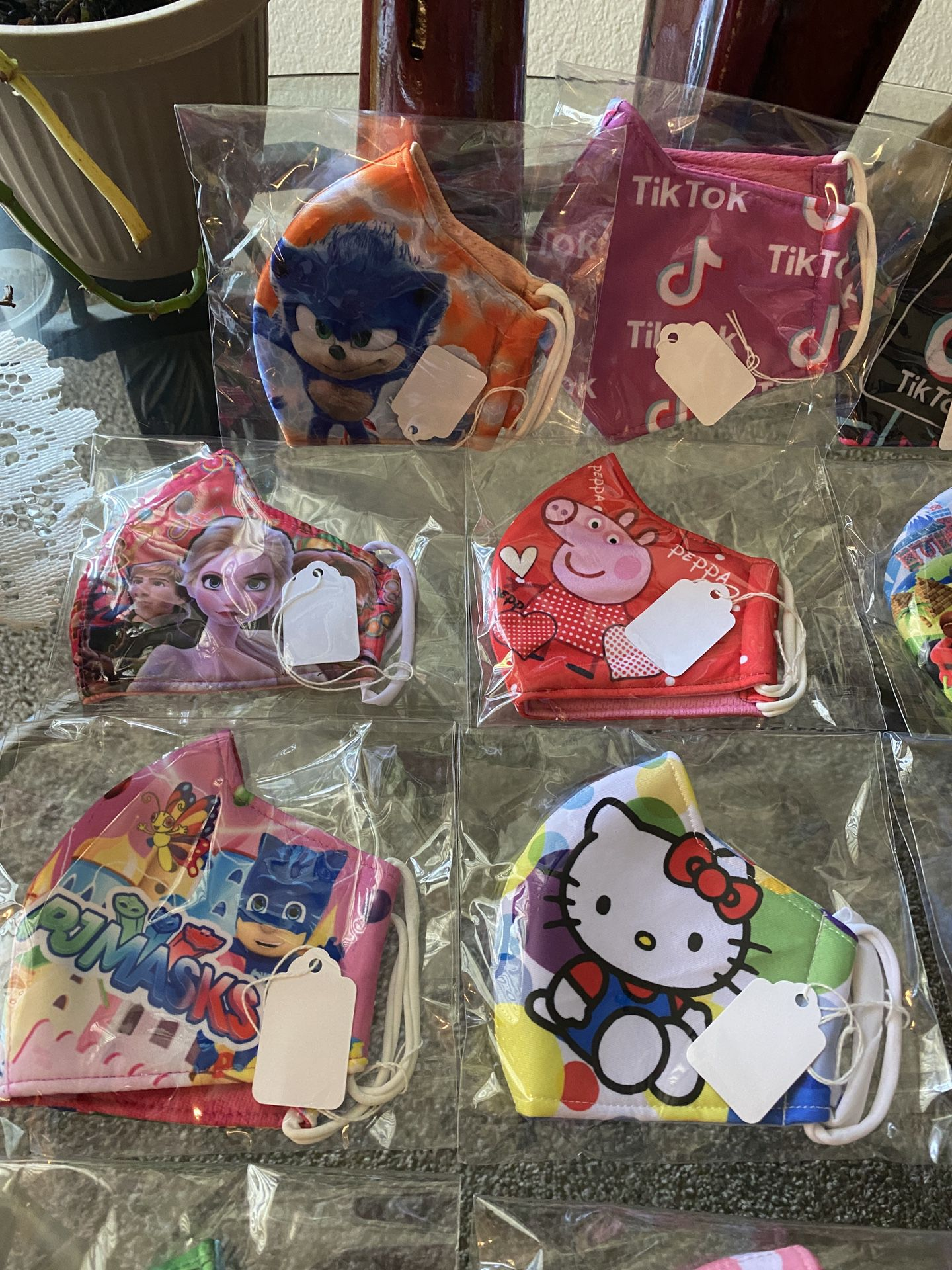 Children's Face Masks 3 Layered Protection, Washable, Comfortable And Breathable