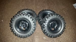 Brand new set of rock crawler tires for 1/10 scale or 1/12 scale RC rock crawler for Sale in Huntington Park, CA