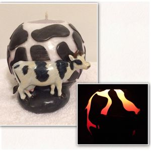Glowing Cow Candle by Wax & Beyond for Sale in Pittsburgh, PA