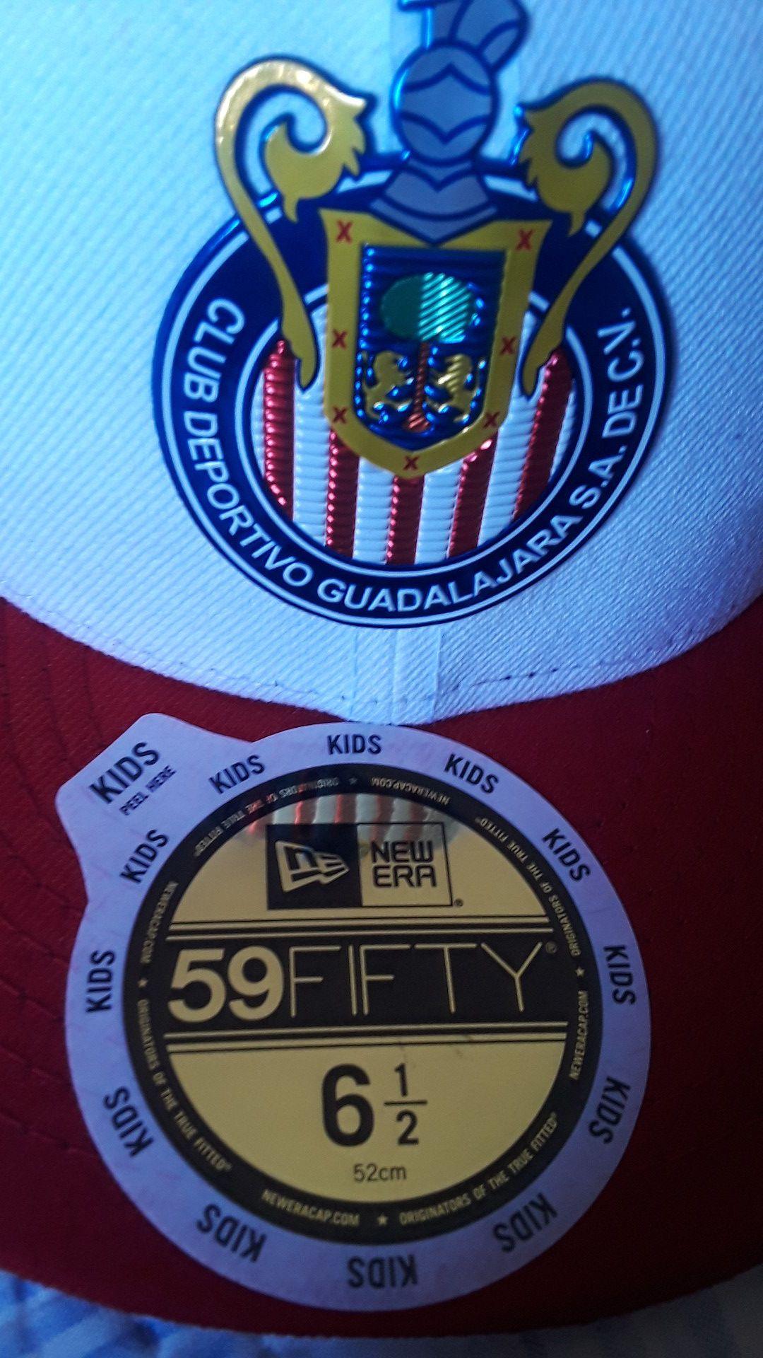 Gorra de chivas para niño , for kid chivas hat
