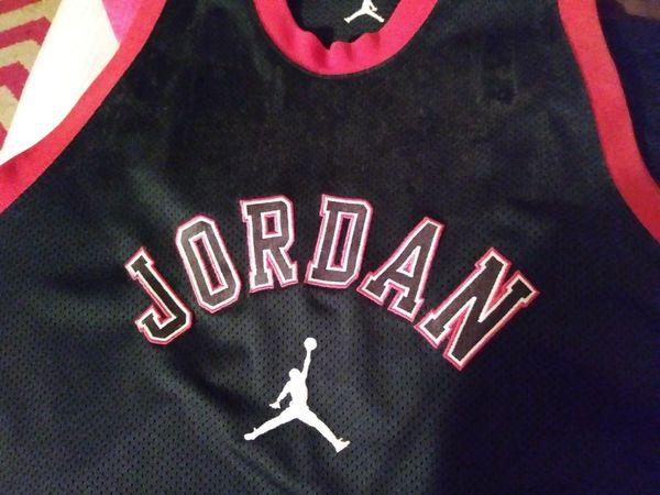 super popular 36b27 f0df4 Black jordan jersey for Sale in Pinellas Park, FL - OfferUp