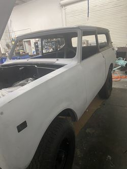 1973 Scout 4x4 Project For Sale Thumbnail