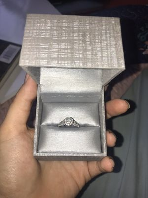 Photo Vera wang LOVE collection engagement ring
