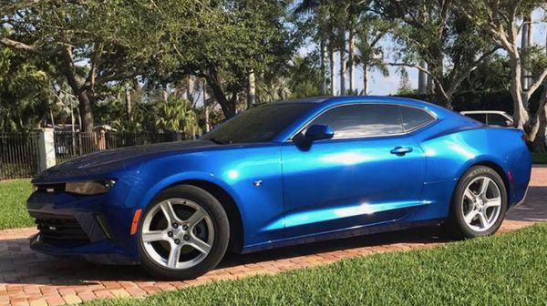 2016 chevrolet camaro 4cylinder turbo blue for sale in royal palm beach fl offerup. Black Bedroom Furniture Sets. Home Design Ideas