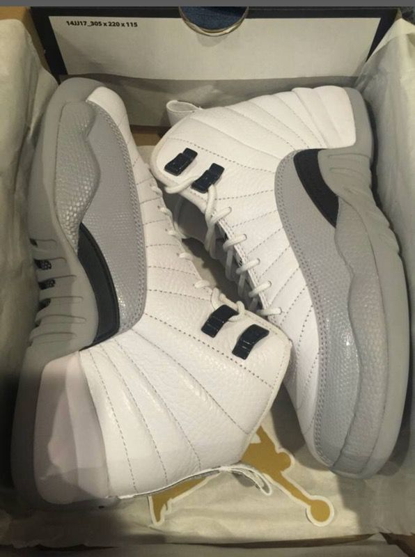 2fd294f0d37 AIR JORDAN 12 BARON GS SIZE 5y DS BRAND NEW for Sale in Santa Clara ...