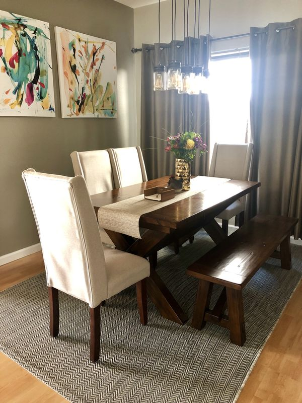 Pottery Barn Toscana Dining Table Set For Sale In San Jose Ca Offerup