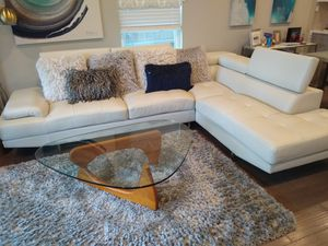 New And Used White Leather Couch For Sale In San Antonio Tx