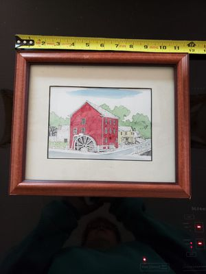 Framed watercolor by RM Parker for Sale in Lutherville-Timonium, MD
