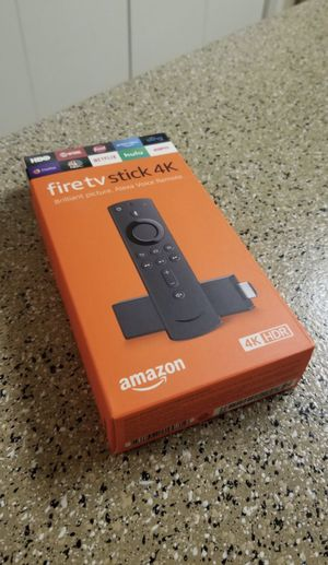 Fire TV 4K with power &volume control FULLY LOADED for Sale in Manchester, CT