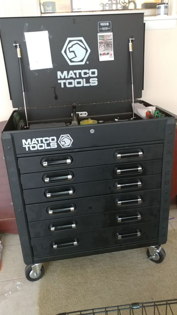 Matco metal 6 drawer tool box for Sale in North Little Rock, AR - OfferUp