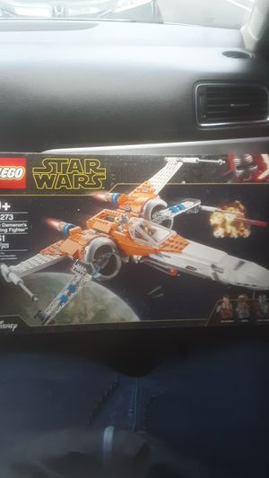 Photo Lego star wars Poe damerons x-wing fighter