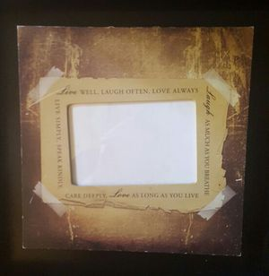 LIVE, LOVE AND LAUGH PICTURE FRAME, 11BY11 for Sale in Scottsdale, AZ