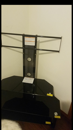 Tv stand like new only used for. A week for Sale in Seattle, WA