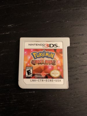 Pokémon Omega Ruby 3DS for Sale in Sacramento, CA