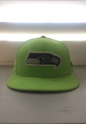 "Seattle Seahawks Football Fitted Hat Size 7 1/8"" for Sale in Corona, CA"