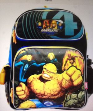 💰$17 NEW MARVEL FANTASTIC FOUR BACKPACK for Sale in Bloomington, CA