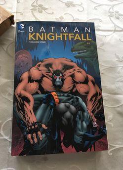 Batman Knightfall Volume 1 Paperbook Thumbnail