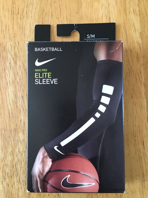 c5dd38821df Brand new Nike basketball pro elite sleeves sleeve (unisex size S/M) for  Sale in Spring Valley, CA - OfferUp
