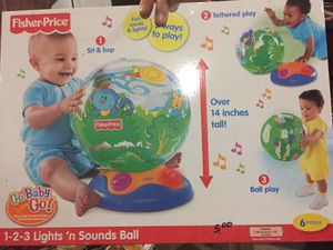 Lights and sound ball baby toy for Sale in Clayton, NC