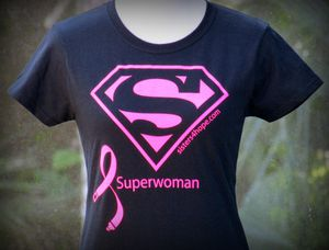 Superwoman T-shirt (Ladies' cut crew neck S-XL) for Sale in Winter Springs, FL