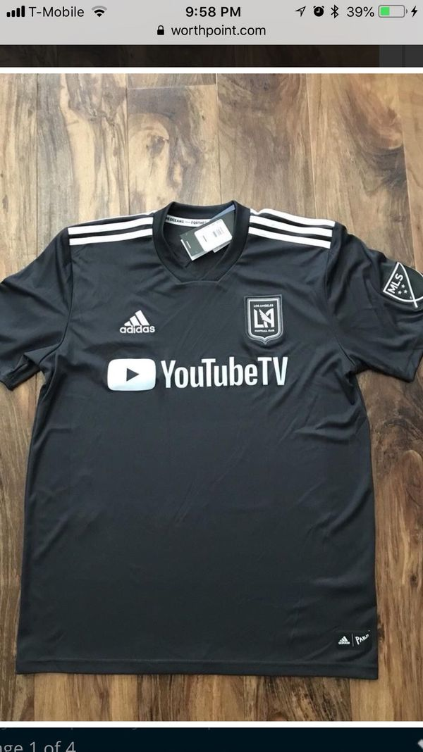 pretty nice 22f7b 3411e Custom lafc jerseys small only for Sale in Los Angeles, CA - OfferUp
