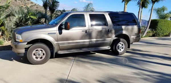 2003 Ford Excursion 6 0 Diesel Miles 97511 For Sale In Fallbrook Ca Offerup