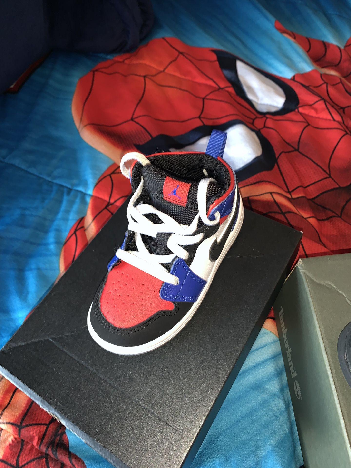 Air Jordan's size 8 in toddlers