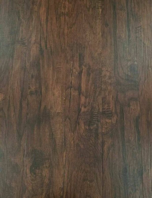 Luxury Vinyl Plank Flooring 6x36 Java Hickory Click