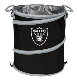 Oakland Raiders 3-N-1 Collapsible for Sale in Fontana, CA