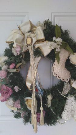 Home made Wreath. Thumbnail