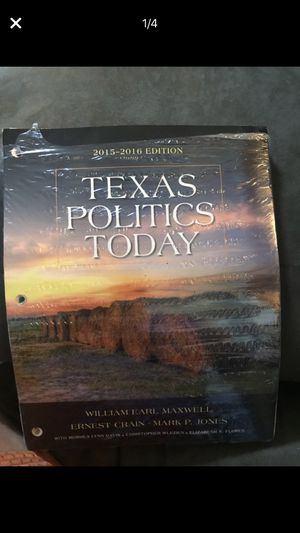 Texas Politics Today(textbook with code) for Sale in Austin, TX
