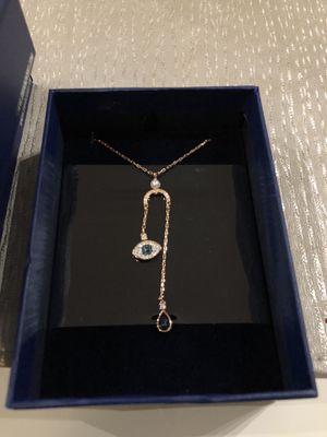Swarovski evil eye necklace for Sale in Alexandria, VA