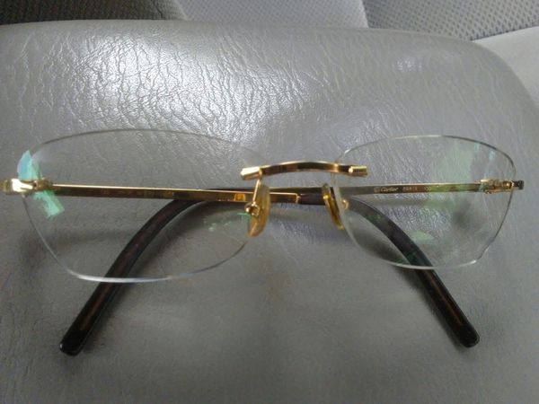 5391498b38 Cartier eyeglass frames. Used for Sale in Richmond