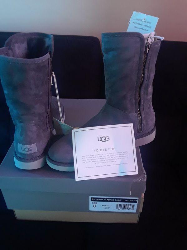 966b9c640d8 Gray high boots Uggs Original.. for Sale in Norwalk, CA - OfferUp