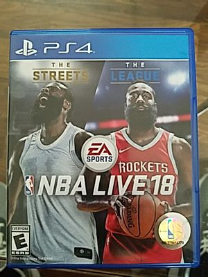 NBA Live 18 PS4 - Perfect Condition for Sale in OR, US