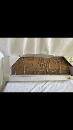 Peace light up Christmas decor NEW for Sale in Union City, CA