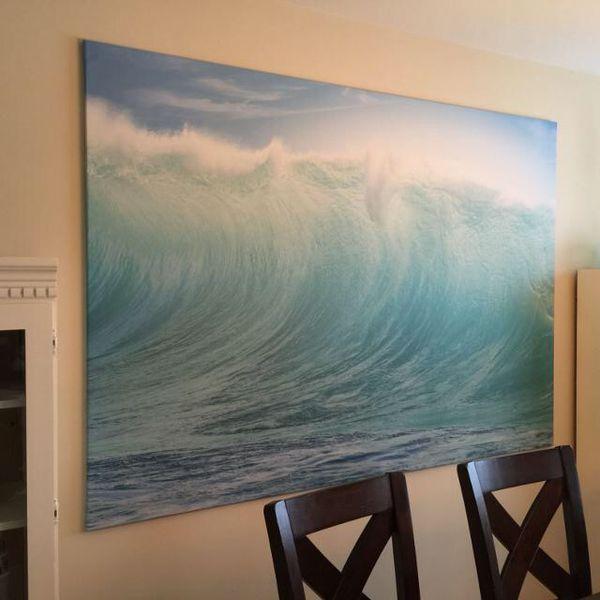 huge ikea wave photo for sale in san diego ca offerup. Black Bedroom Furniture Sets. Home Design Ideas