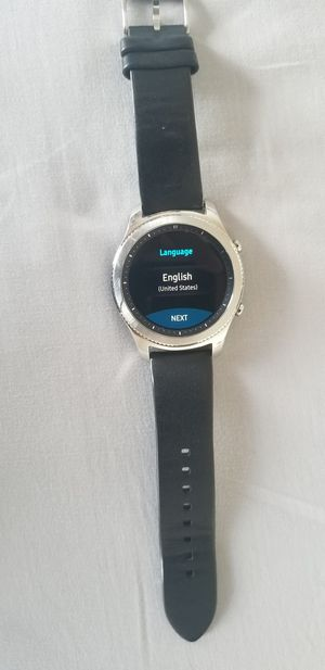 Samsung Gear S3 Classic Watch for Sale in Gaithersburg, MD