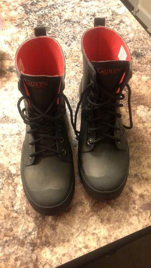 Ralph Lauren rain boots for Sale in Washington, DC
