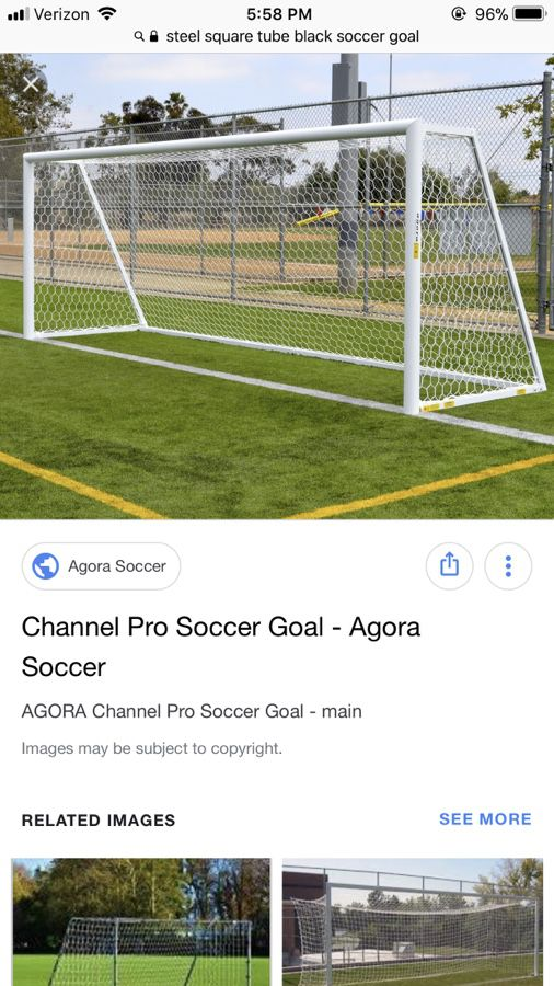 Soccer Goals For Sale >> Full Size Soccer Goals 2 Goals For Sale In Bonney Lake Wa Offerup