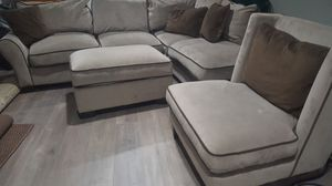 3 sofa set with pillows for Sale in Camp Springs, MD