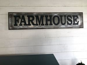 Metal farmhouse sign for Sale in Federal Way, WA