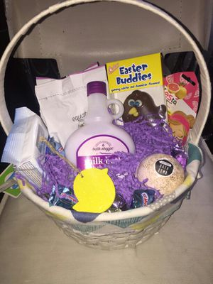Spa Easter basket for Sale in Gainesville, GA